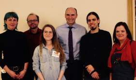 Laury Bacro, Pierre Gaudrean, Janick Allyson, Jean-Yves Duclos, Maxime Couillard et Sylvie Plante