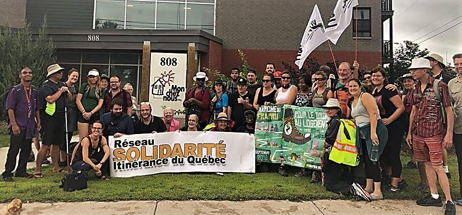 Marche FRAPRU itinérance Outaouais